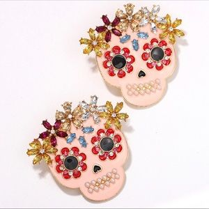 Halloween Dia de los Muertos Earrings